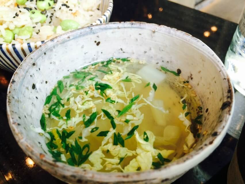 Kombu dashi soup