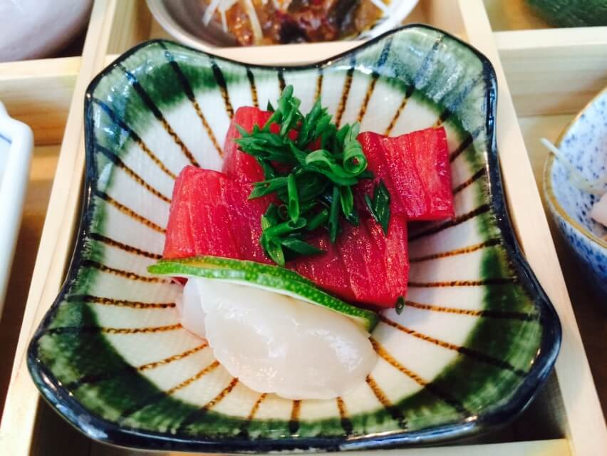 Tuna & Scallop Sashimi