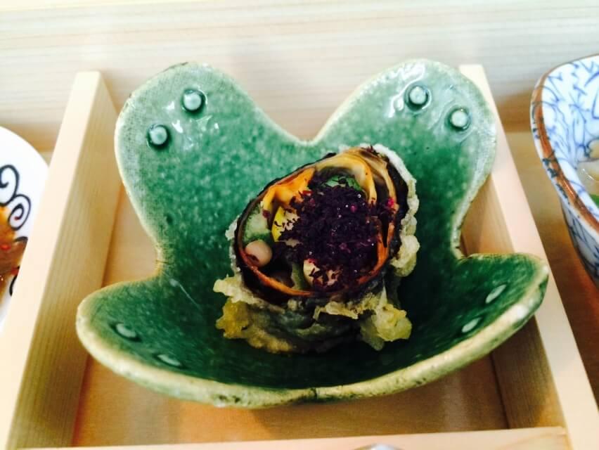 Yuba Maki, Seasoal Vegetables & Shizo Roll